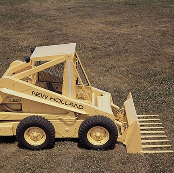 first-skid-steer-loader-new-holland-agriculture-history-1971